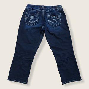 Silver Jeans Suki Mid Capri Style Capri